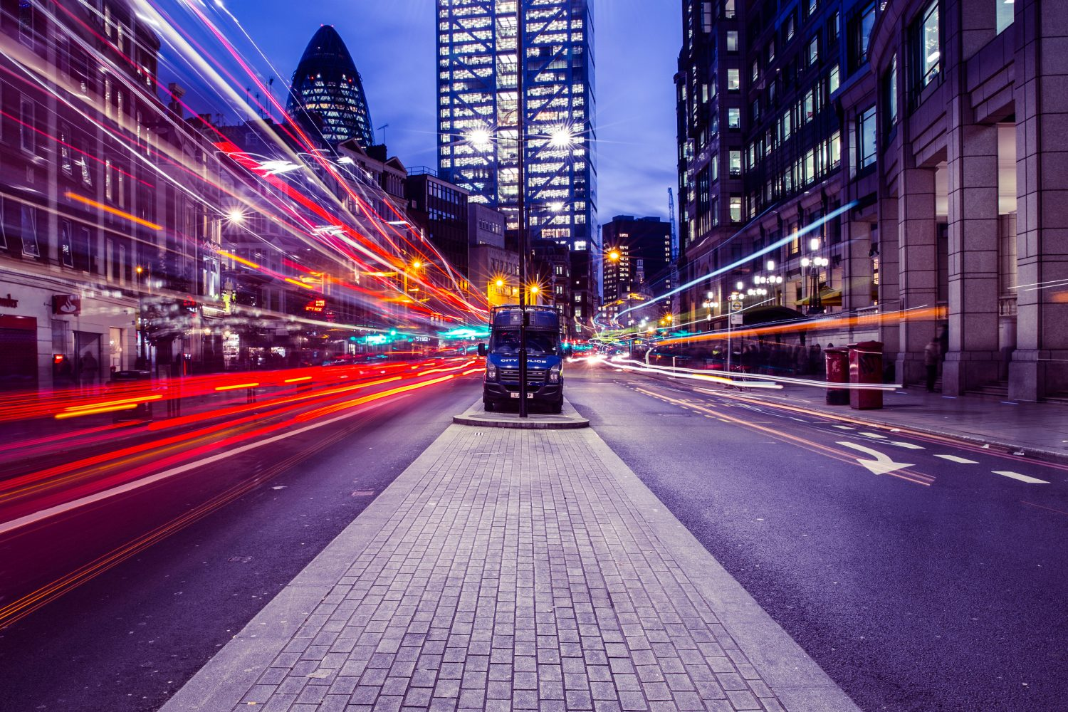 london-light-trails