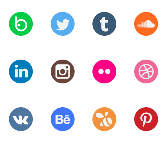 social-network-logo-collection