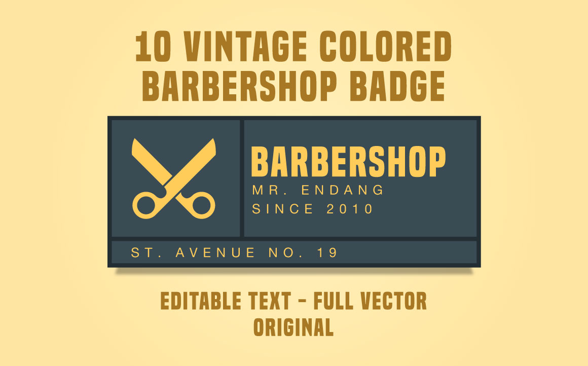 10-Vintage-Colored-Barbershop-Badge