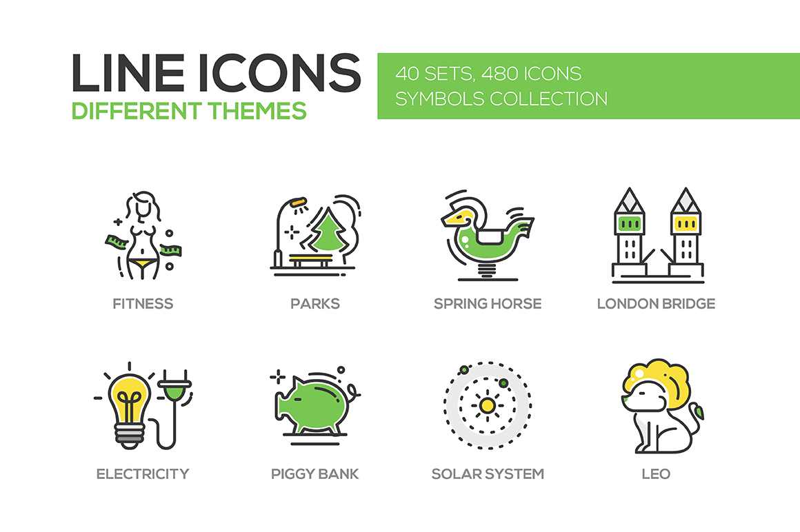 Big-Bundle-of-480-Line-Design-Icons
