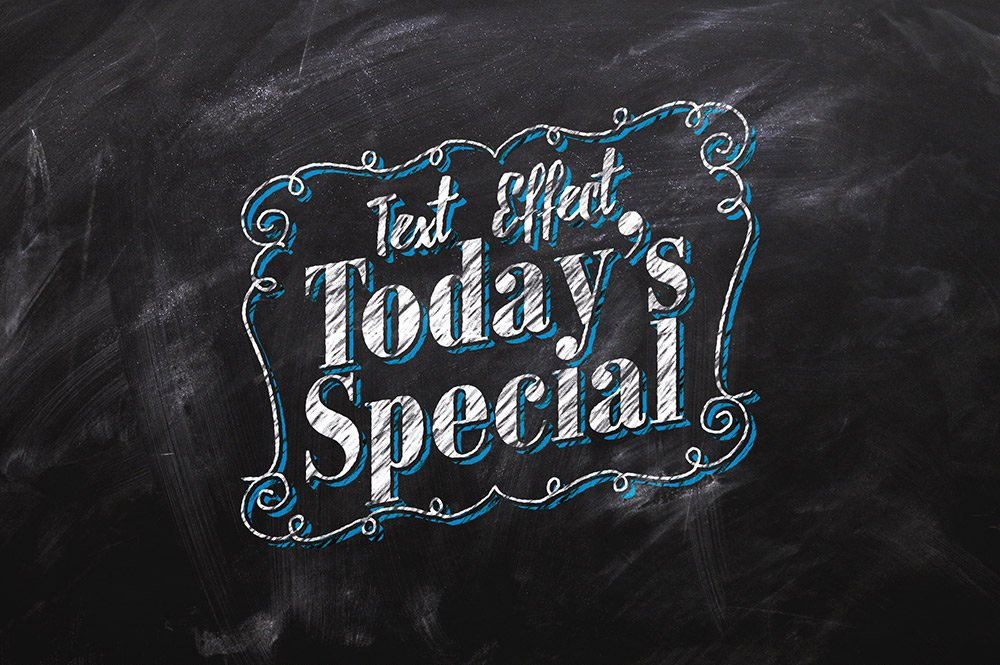 Chalkboard-Text-Effect-PSD