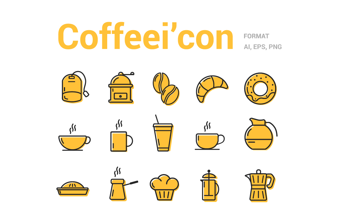Coffee-line-icons