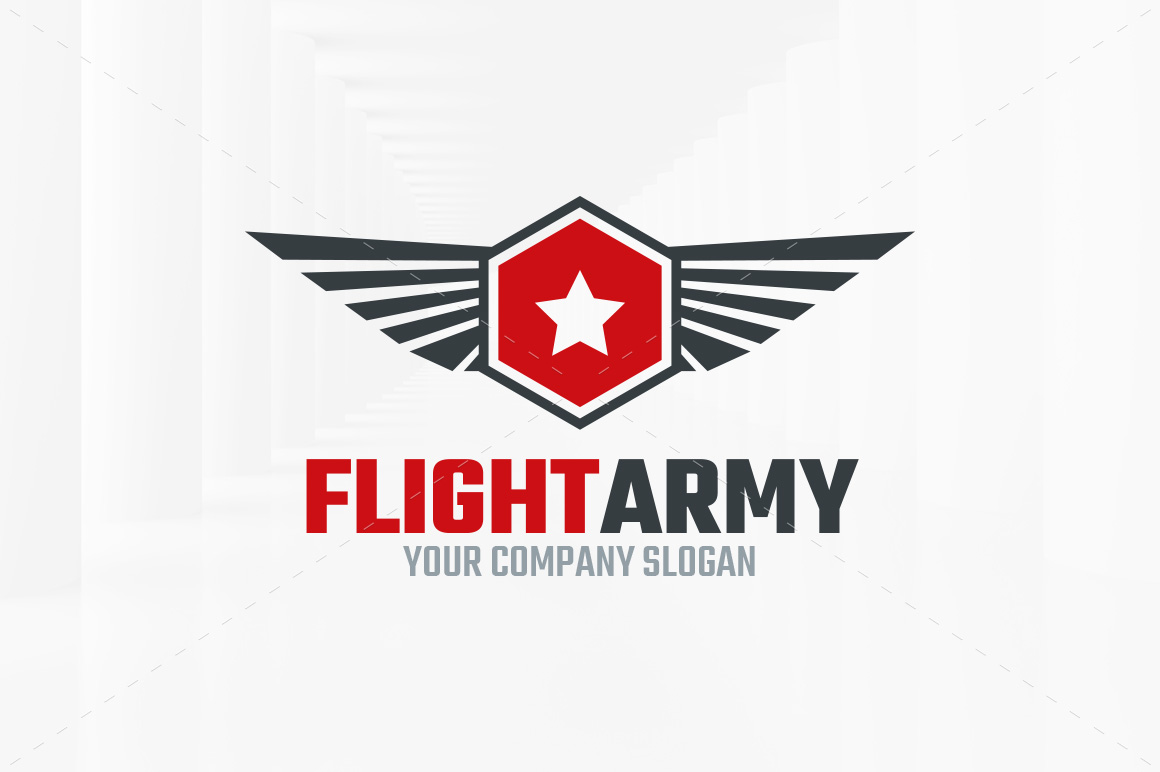 Flight-Army-Logo-Template