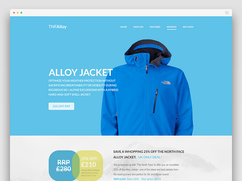 Free-Flat-Website-Template-TNF-Alloy
