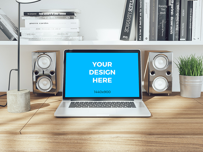 Free-mockup-MacBook-pro-Retina-on-wooden-table