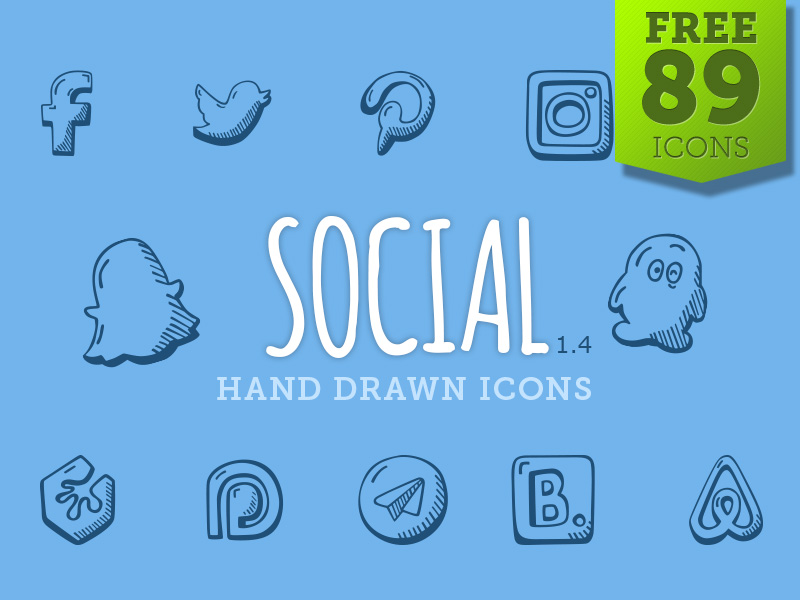 Hand-Drawn-Social-Icons