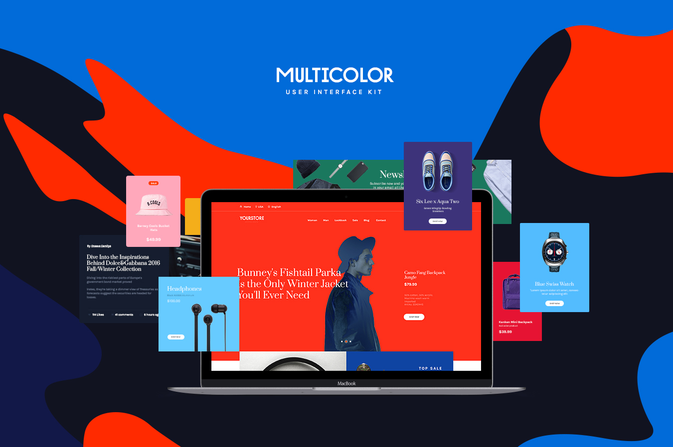 Multicolor-UI-Kit