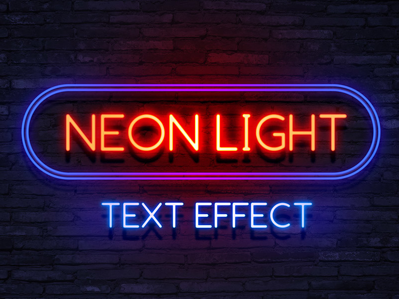 Neon-Light-Text-Effect