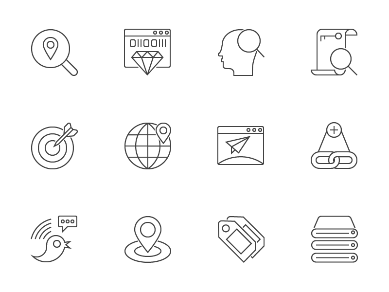 Seo-Outline-Icons