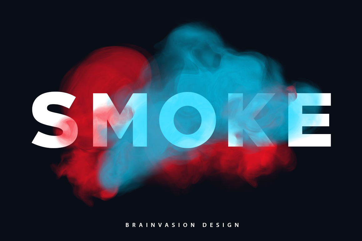 Smoke-Type-for-Photoshop