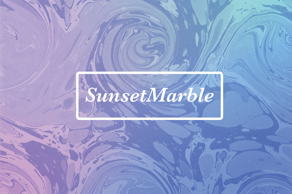Sunset-Marble
