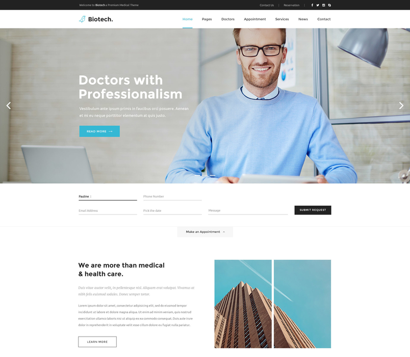 biotech-medical-and-health-psd-template-2