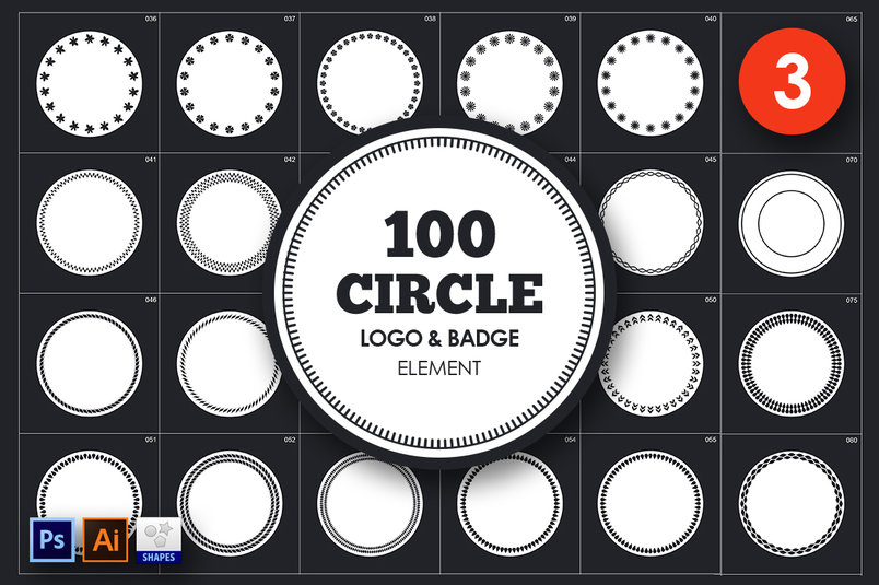 circle-logo-badge-element-vol-3-3