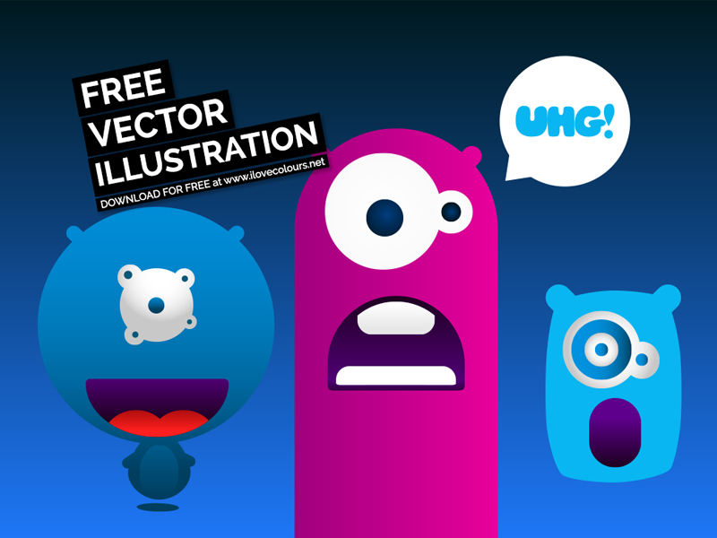 crazy-monsters-vector-illustration