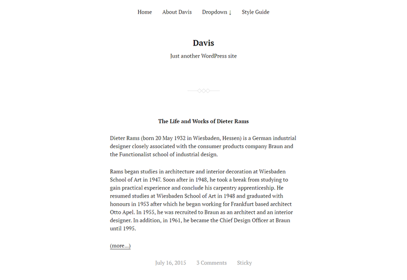 davis-free-blog-wordpress-theme-1