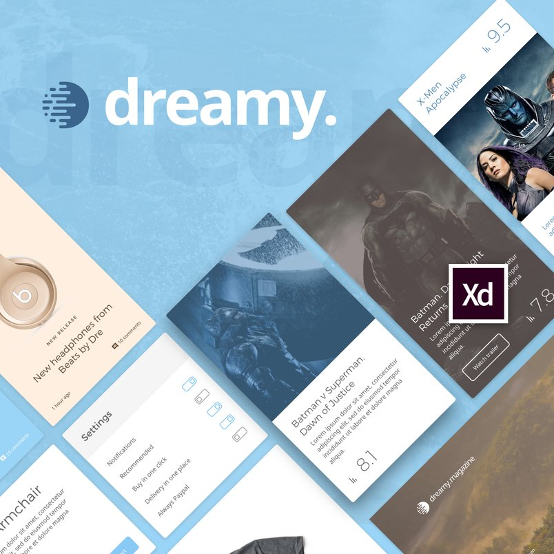 dreamy-ui-kit-for-adobe-xd-2