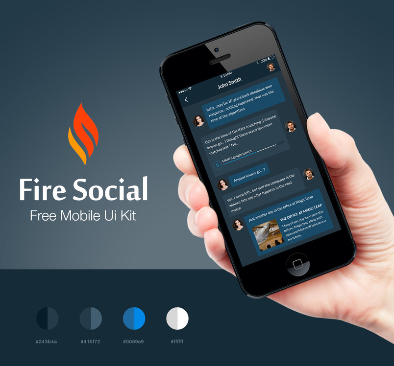 fire-social-app-free-mobile-ui-kit-2
