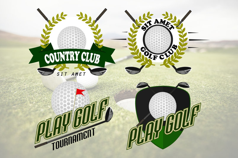 professional-logo-of-golf-club-2