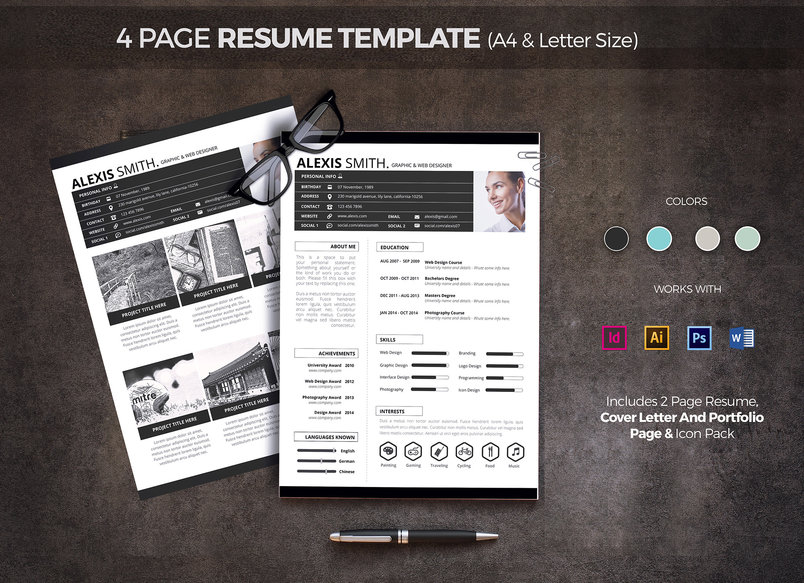 4-page-resume-template-2