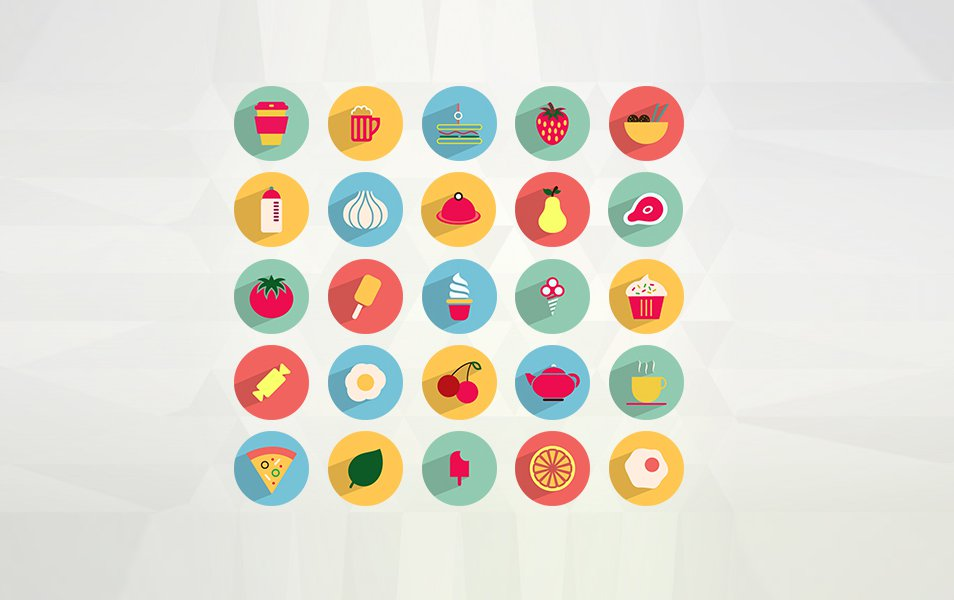 50-Flat-Food-and-Drink-Icons