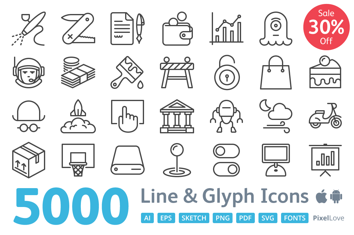5000-iOS-icons-PixelLove