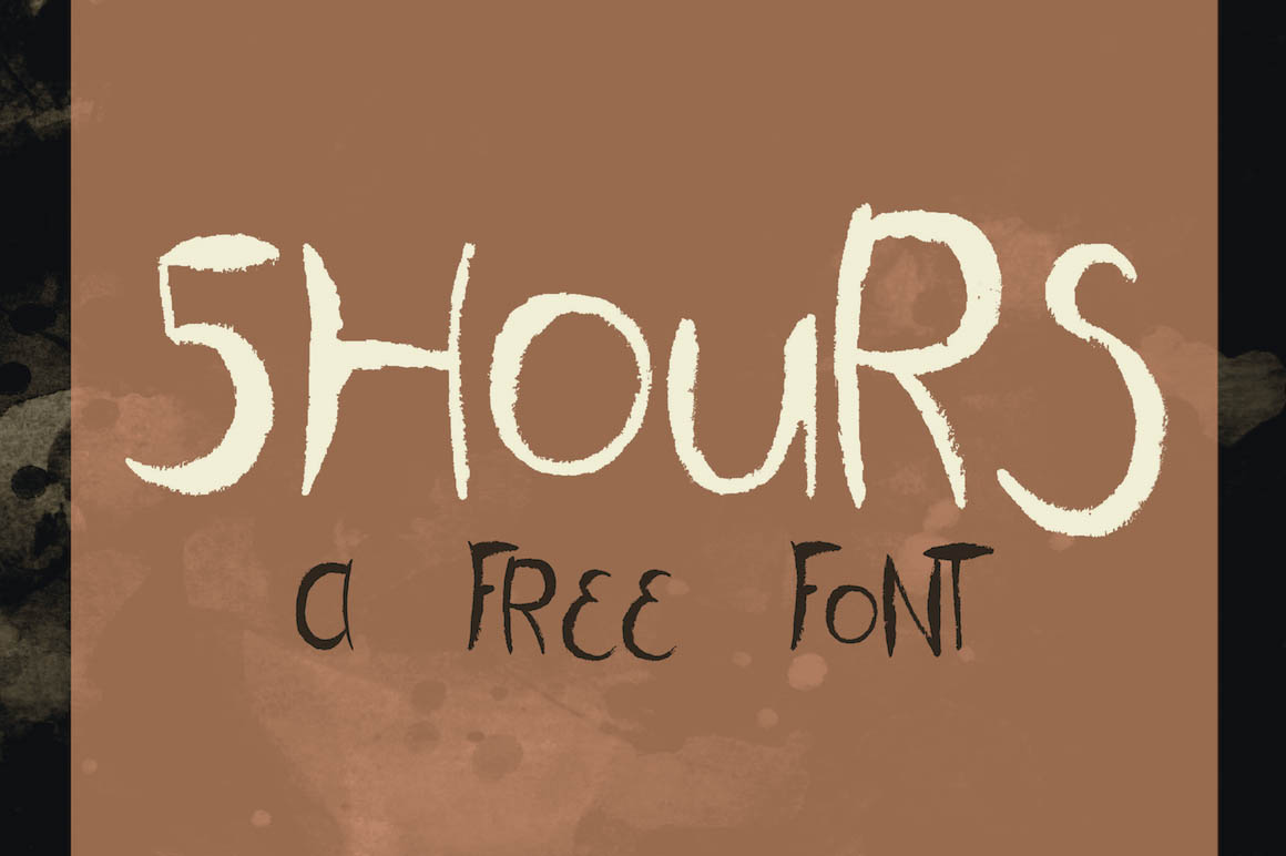 5hours-free-font