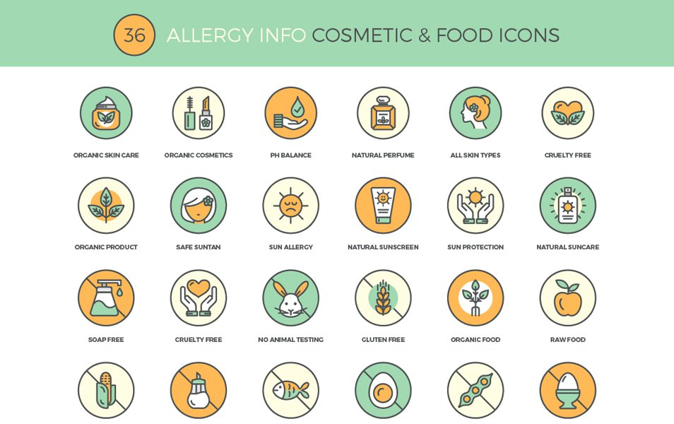 Allergy-Info-Cosmetic-Food-Icons
