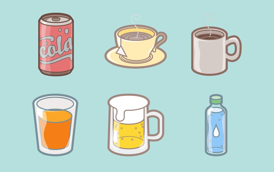 Drinks-Lifestyle-Icons