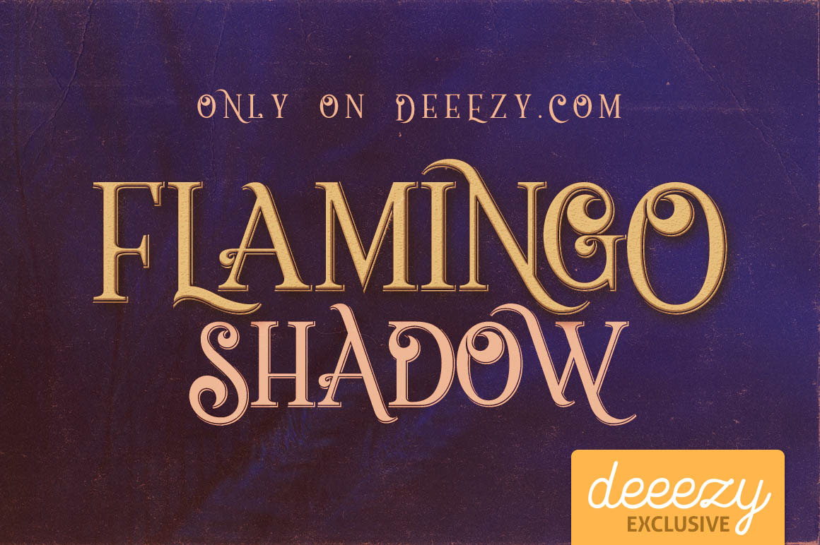 Flamingo-Shadow-Free-Font