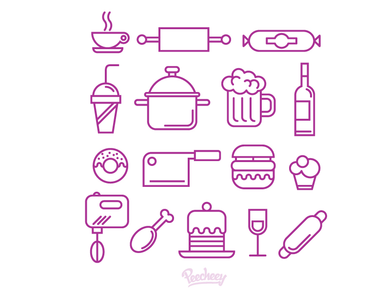 Food-and-kitchen-supplies-icons