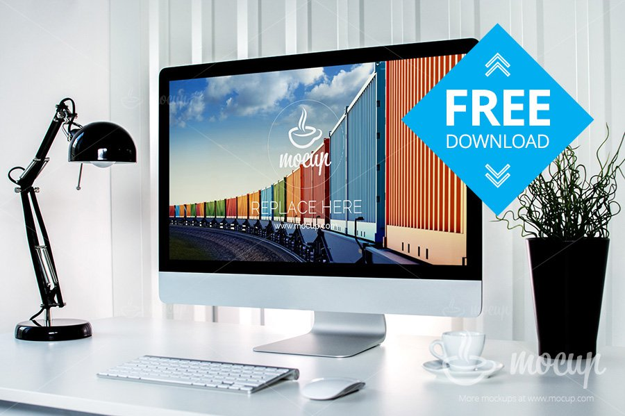 Free-Container-5K-iMac-Mockup-PSD