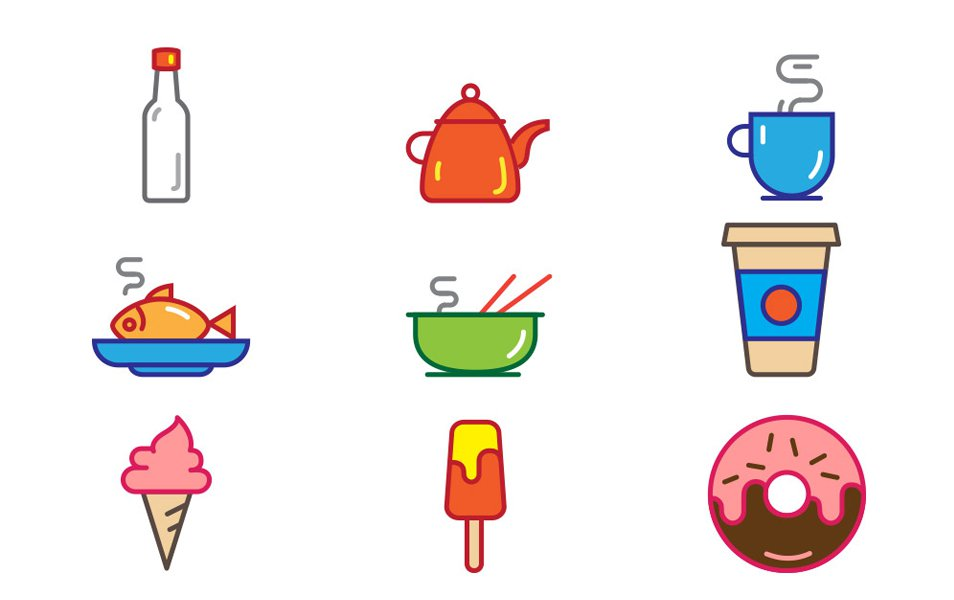 Free-Food-Icons