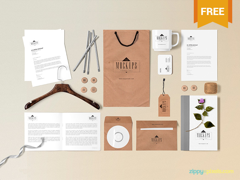 Free-Stationery-Mock-Up-Scene-Builder