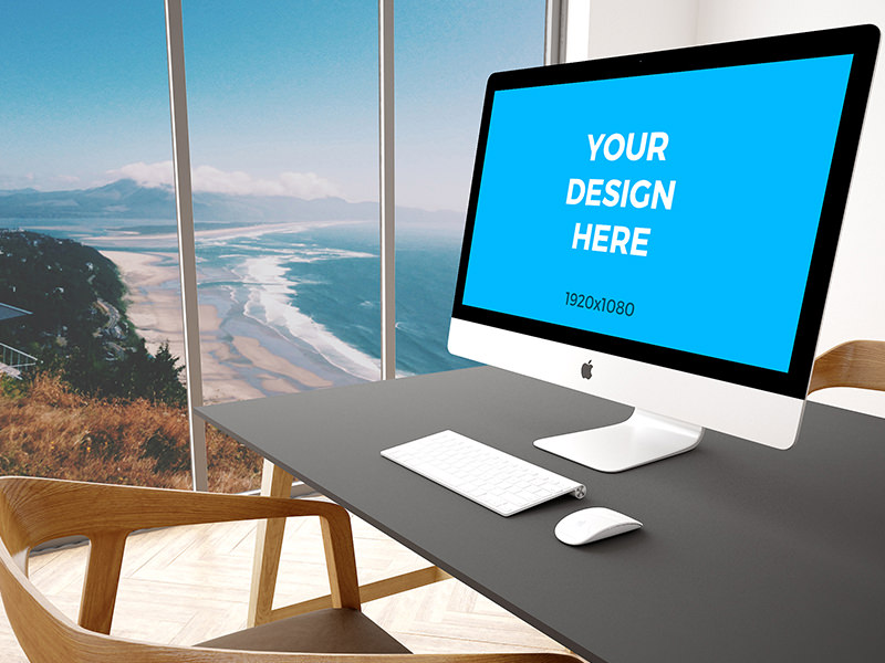 Free-mockup-27-iMac-on-black-table-in-modern-office