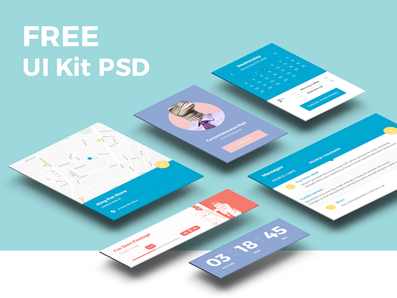 Freebie-PSD-UI-Kit