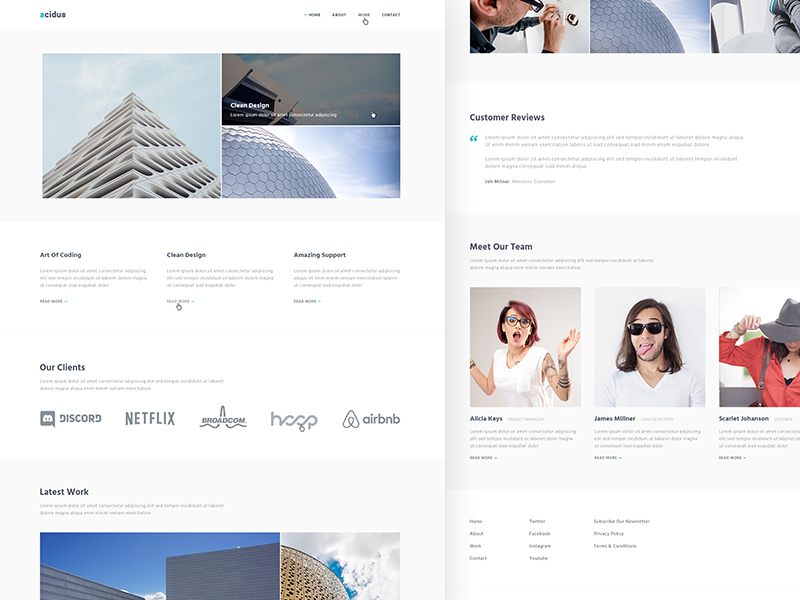 acidus-clean-responsive-site-template