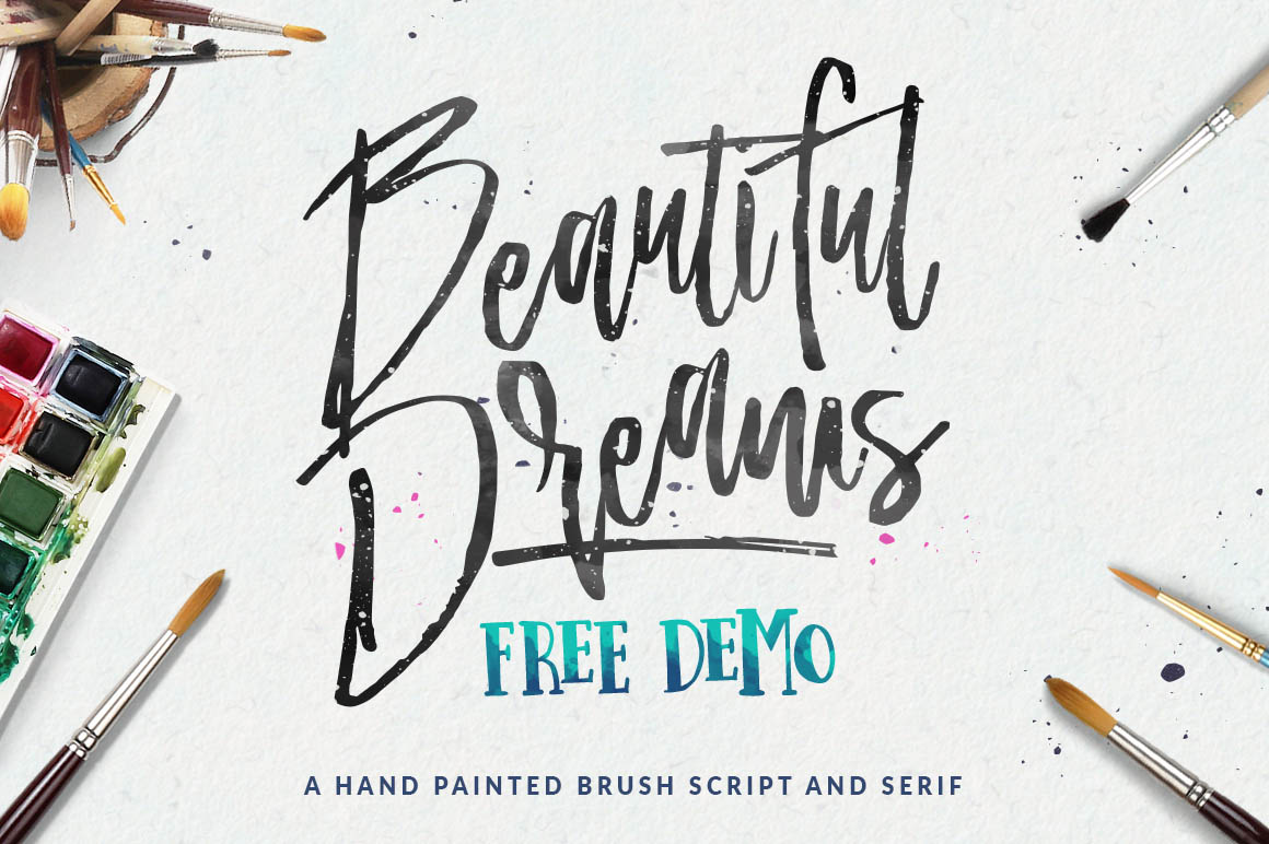 beautiful-dreams-free-brush-font