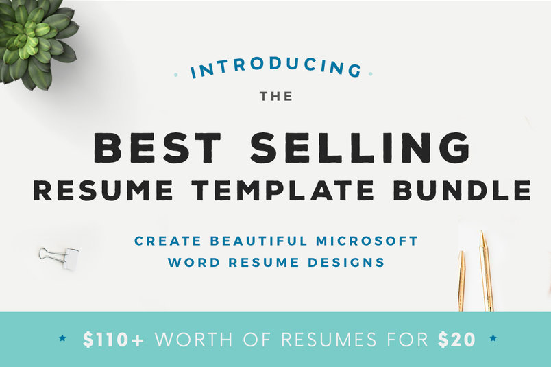 best-selling-resume-template-bundle-2
