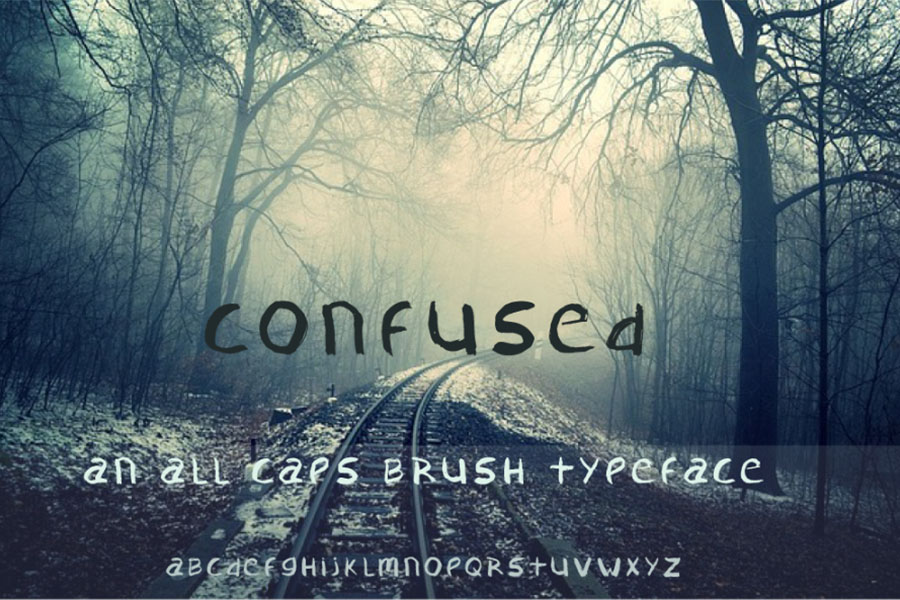 confused-free-typeface
