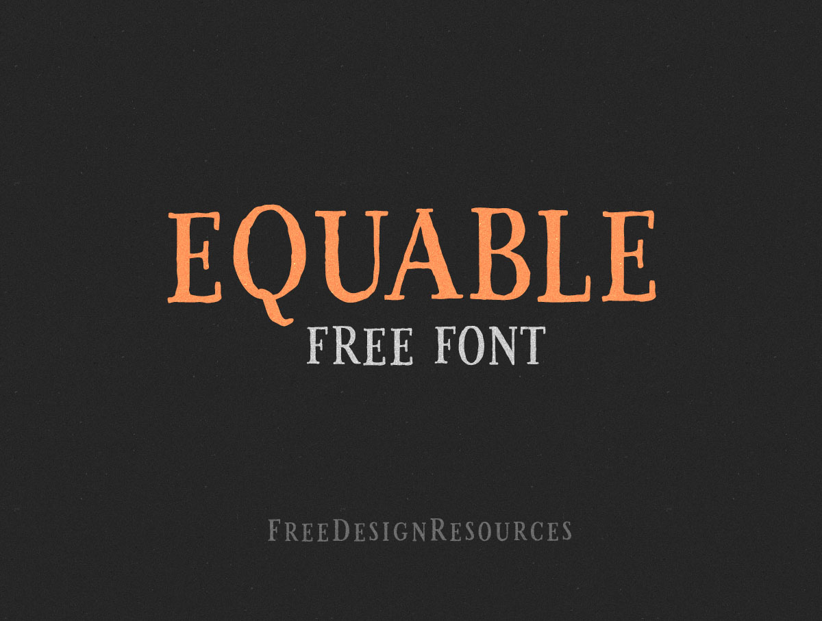 equable-free-retro-font