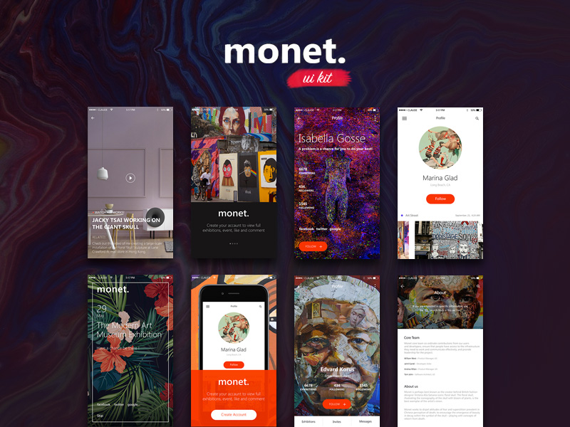monet-ios-art-ui-kit-freebie