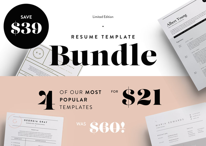 most-popular-resumes-bundle-2