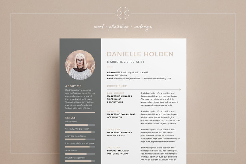30  best clean cv    resume templates