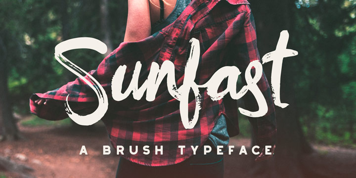 sunfast-brush-typeface