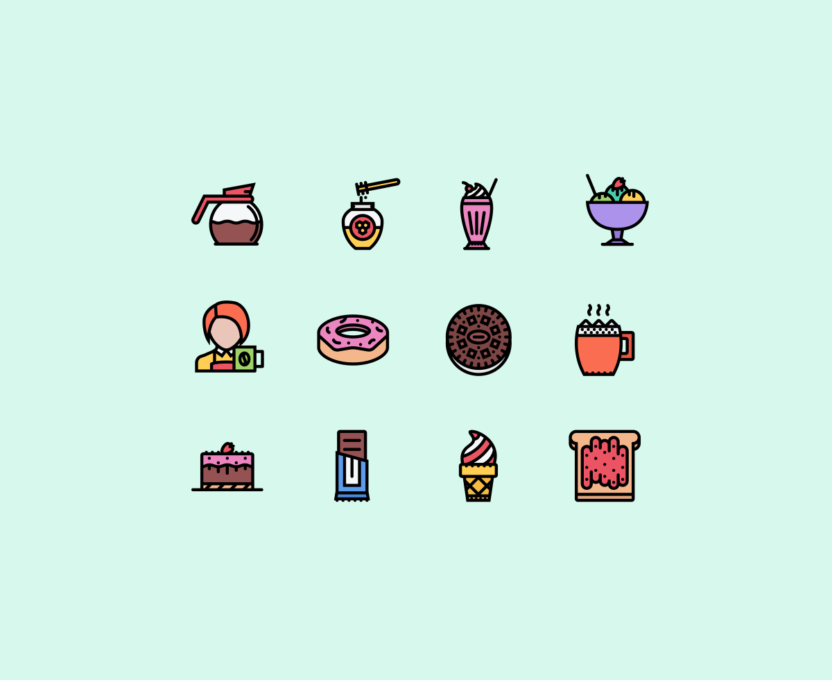 the-cafe-icons