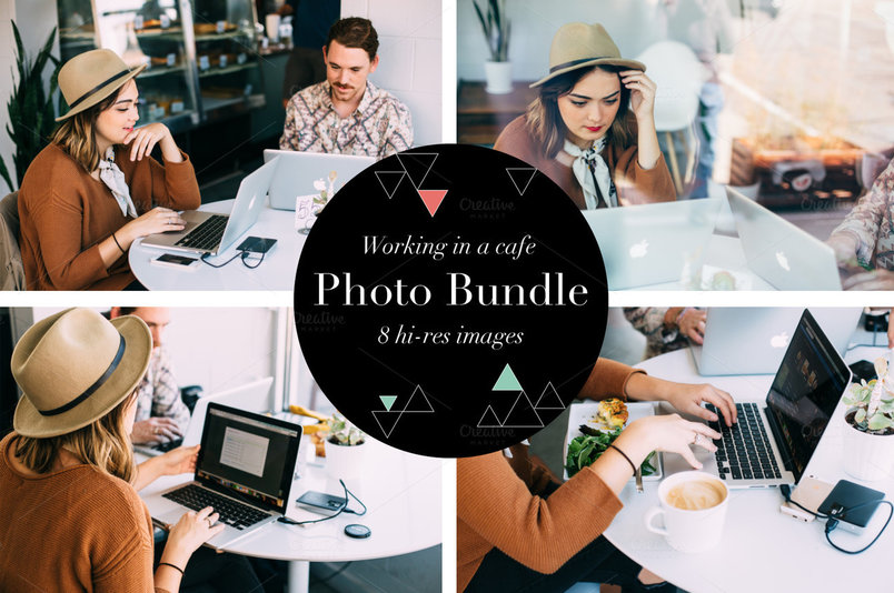 working-in-a-cafe-photo-bundle-2