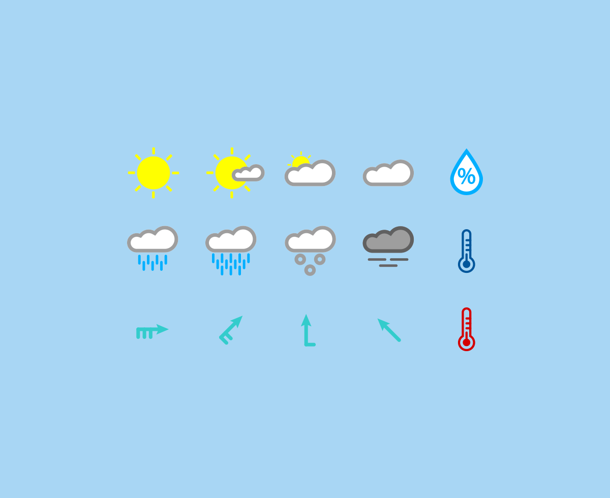 15-colored-weather-icons