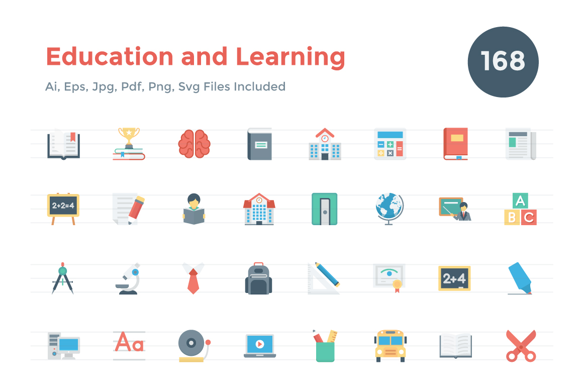 168-Flat-Education-and-Learning-Icon