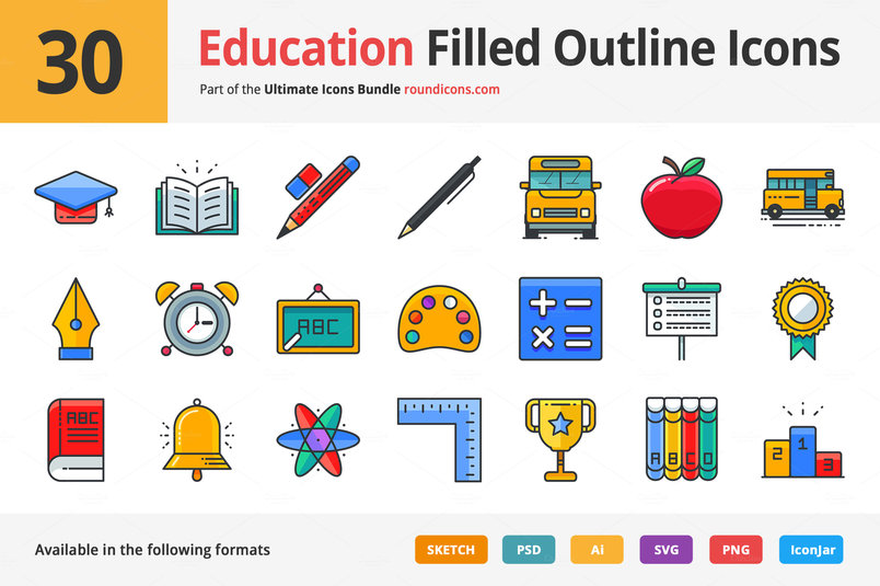 30-education-filled-outline-icons-2
