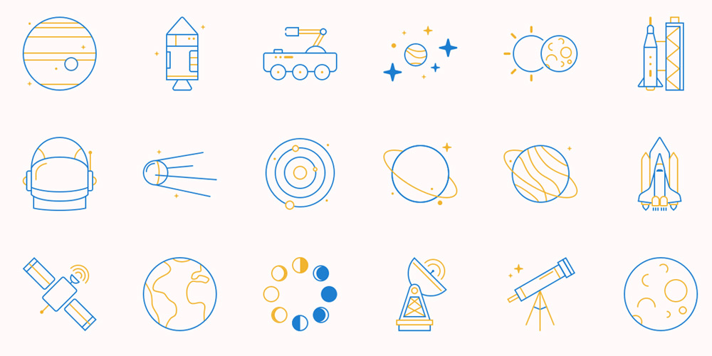 Astronomy-and-Space-Icons-1